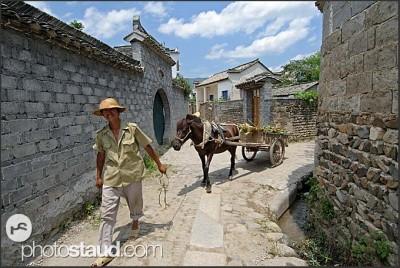 Rolník z vesnice Hongcun