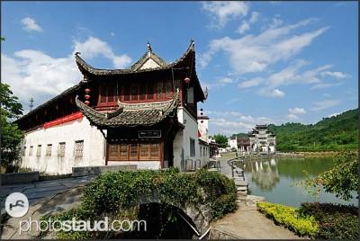 Architektura vesnice Xidi