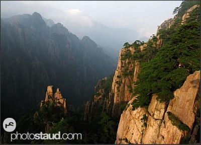 Krajina Žlutých hor, Čína