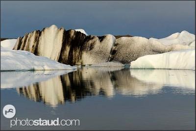 Ledovcové jezírko Jokulsarlon, Island