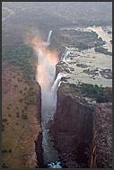Kalamu camp of Wilderness Safaris on the Luangwa River bank, aerial photograph, Zambia