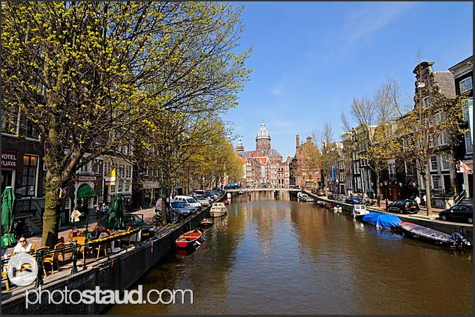 Canal Houses Amsterdam, Holland, The Netherlands, Europe