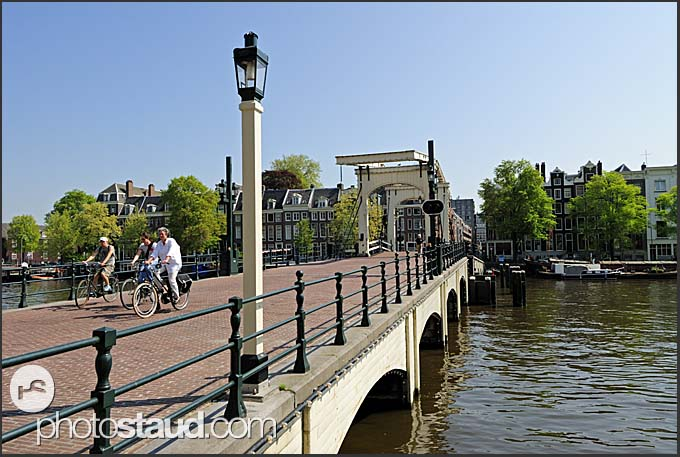 Canal of Amsterdam, Holland, The Netherlands, Europe