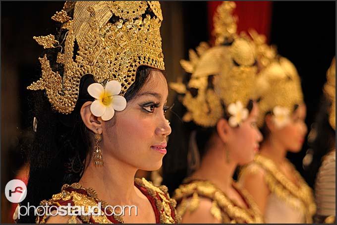 Traditional Khmer dance, Apsara, Siem Reap, Cambodia