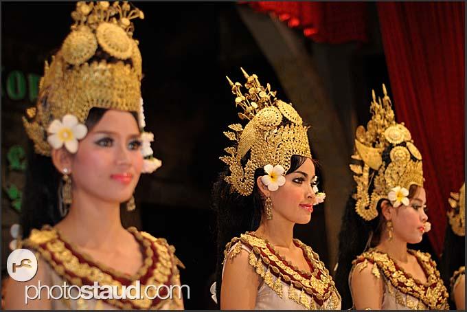 Female Apsara dancers, Cambodia