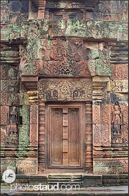 Banteay Srei Temple, Citadel of Women, Angkor, Cambodia