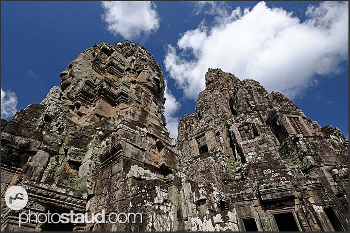 Prasat with the faces of Lokeshvara, Bayon Temple, Angkor Thom, Cambodia