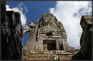Ruins of Bayon Temple, Angkor Thom, Cambodia