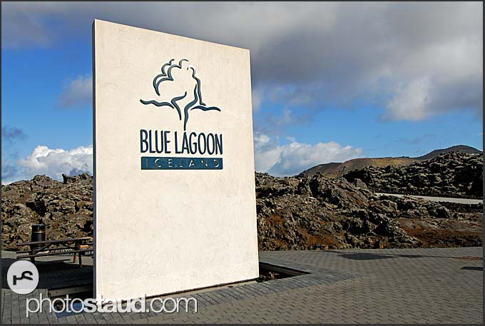Entrance to Blue Lagoon, Iceland