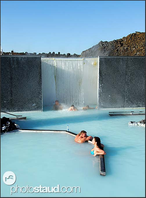 People enjoying blue lagoon iceland blue lagoon for Where is the blue lagoon located in iceland