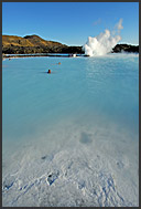 Landscape of Blue Lagoon, Iceland