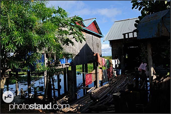 Cambodian village