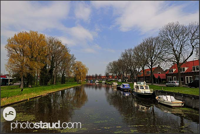Dutch canals, Holland, Europe