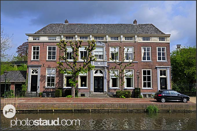 Houses along canals, Holland, Europe