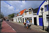 Street of Muiden, Holland, Europe