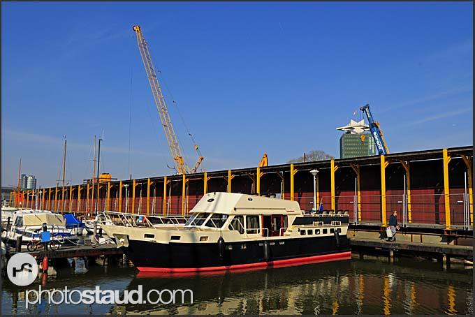 Yachts in Dutch marina, Holland, Europe