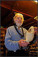 Workshop for clog making at De Vriendschap in Volendam, Holland, Europe