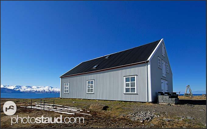 Fishing hut near Husavik, Iceland
