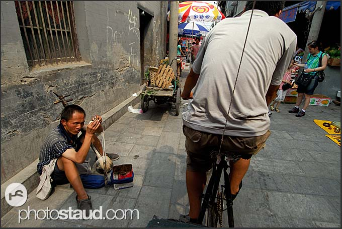 Seeing narrow lanes of Beijing Hutong by rickshaw, China