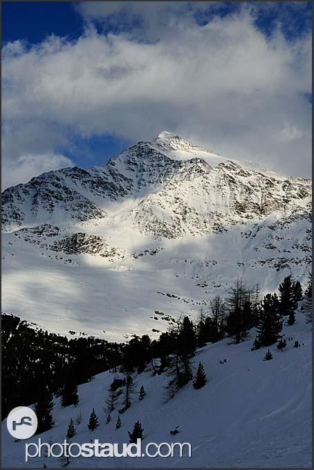 Mount Pizzo Tresero in the Italian Alps, Italy, Europe