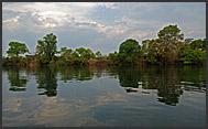 Landscape of Kafue National Park, Zambia