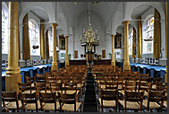Interior of Marken Cathedral, The Netherlands, Europe