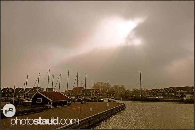 Marken harbor, The Netherlands, Europe