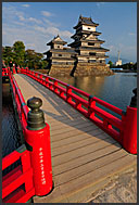 Matsumoto castle, National Treasure, Matsumoto, Japan