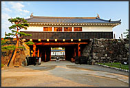 Kuromon Gate, entrance to Matsumoto castle, National Treasure, Matsumoto, Japan