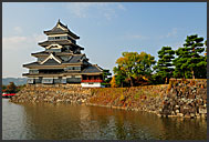 Matsumoto castle, National Treasure, Matsumoto, Japan