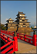Ancient architecture of Matsumoto castle, National Treasure, Matsumoto, Japan