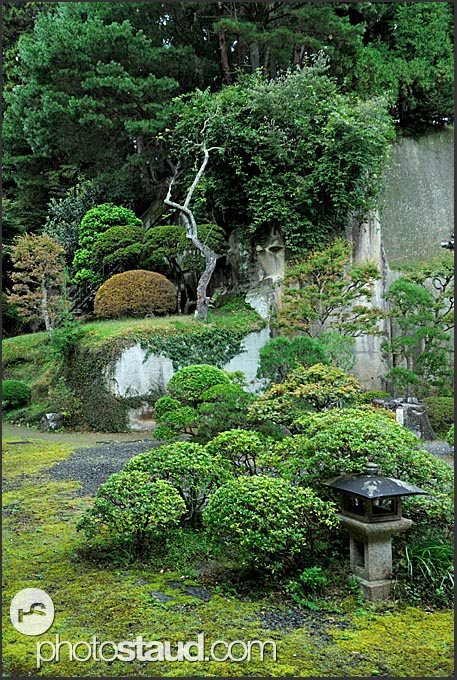 Beautiful Japanese Zen garden in Zuiagan-ji temple, Matsushima, Japan