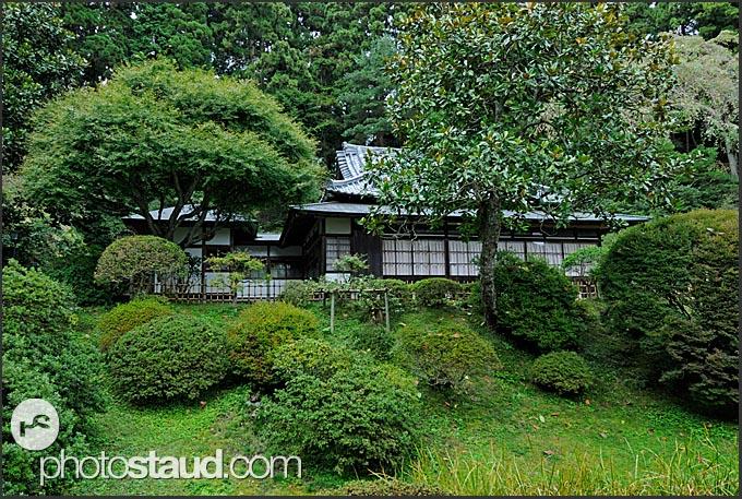 Beautiful Japanese Zen garden in Zuiagan-ji temple, Matsushima, Japan