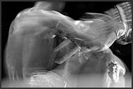 Head in gloves, Thai kickboxing, Muay Thai, Lumpini Boxing Stadium, Bangkok, Thailand