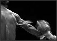 Muay Thai fighters, Thai boxing, Lumpini Boxing Stadium, Bangkok, Thailand