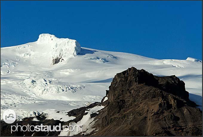 Myrdalsjokul glacier, Iceland