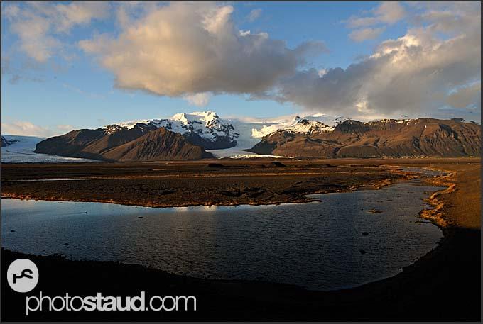 Landscape near Myrdalsjokul glacier, Iceland