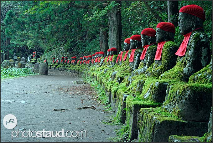 Jizo Statues Nikko Statues in Nikko National