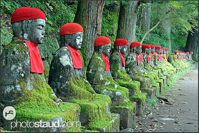 Jizo Statues Nikko Jizo Statues in Nikko