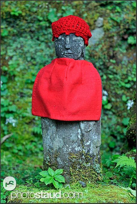 Jizo Statue Locations Narabi-jizo Statue Covered in