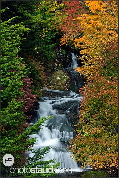 Ryuzu Falls, Nikko National Park, Japan