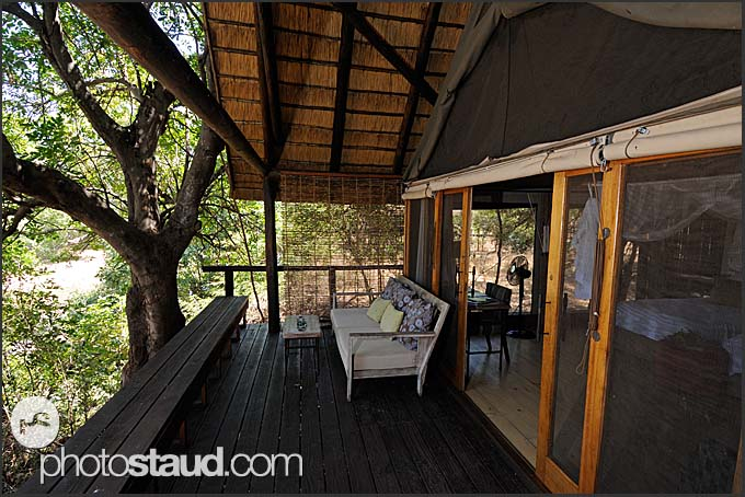 Pafuri Camp - Luxurious lodge of Wilderness Safaris in northern part of Kruger National Park, South Africa