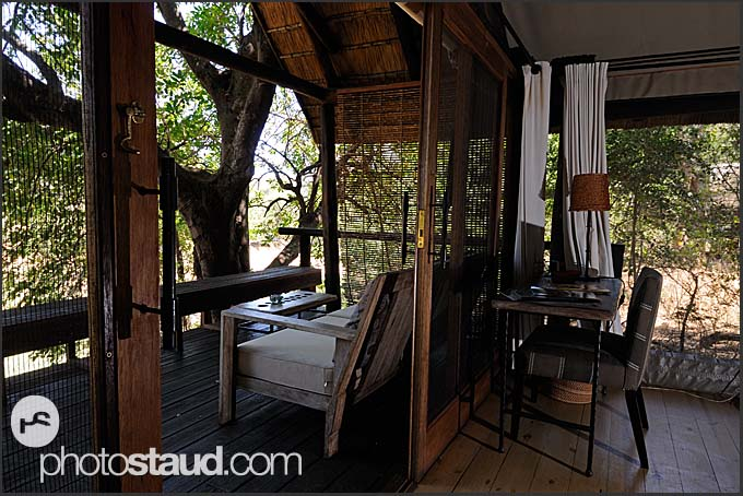 Interior of Pafuri Camp, Kruger National Park, South Africa