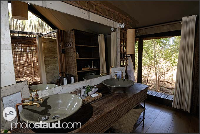 Luxurious accommodation in Kruger National Park, Pafuri Camp of Wilderness Safaris, South Africa