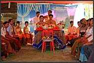 Khmer wedding, Cambodia