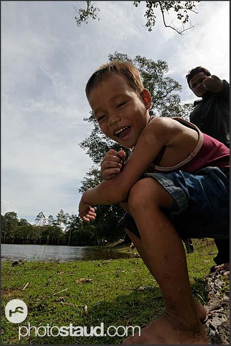Little boy of Cambodia