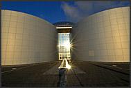 Interior of Perlan, landmark building atop water tanks with natural hot water, Reykjavik, Iceland