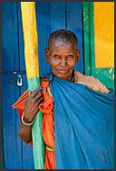 Elderly Samburu woman in South Horr, Kenya