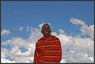 Portrait of Samburu woman, Kenya