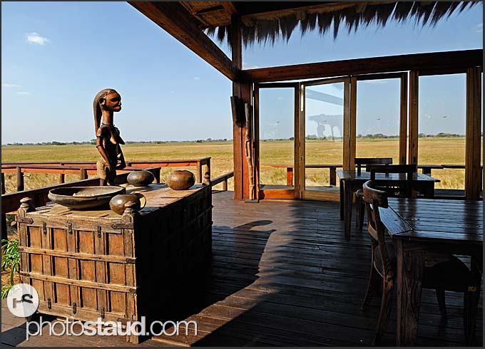 Luxurious accommodation in Shumba Camp, Kafue National Park, Zambia